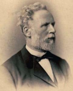 Gustav Ferdinand Thaulow - Visitkartenporträt