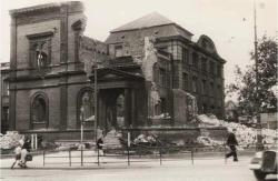 Das Landesmuseum nach Ende des Zweiten Weltkrieges
