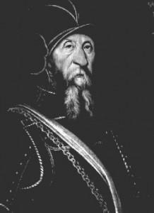 Johann Rantzau (1492-1565), holsteinischer Adliger, Feldherr der dänischen Könige