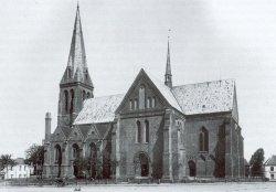 Der Meldorfer Dom nach der Restaurierung 1879 bis 1892