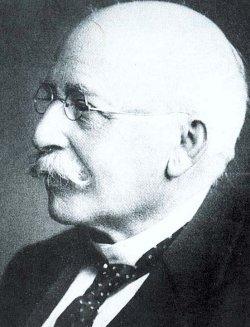 Professor Dr. Richard Haupt (1846 - 1940) war der erste Provinzialkonservator in Schleswig-Holstein