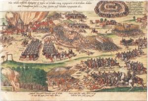 """Kampf um Heide 1559 während der """"Letzten Fehde"""""""