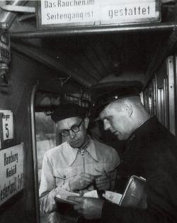 """""""Rauchen im Seitengang erlaubt"""": Fahrkartenkontrolle auf der Marschbahn nach dem Zweiten Weltkrieg"""