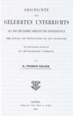 Bestseller des Kaiserreichs: Paulsen Bücher