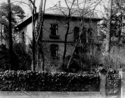 Seine Villa in Berlin Steglitz entwarf Paulsen selber