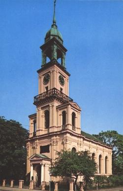 Die neue Remonstrantenkirche wurde 1854 eingeweiht