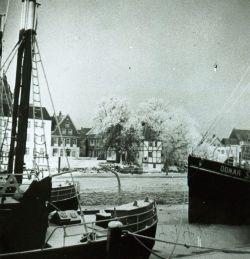 Winteridylle am Glückstädter Hafen