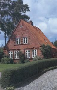 Typisches Einfamilienhaus der Heimatschutzarchitektur