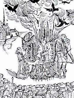 Hexenverbrennung - ein öffentliches Ereignis