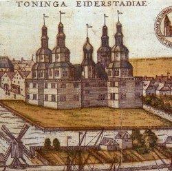 Das Tönninger Schloß entstand nach niederländischem Geschmack