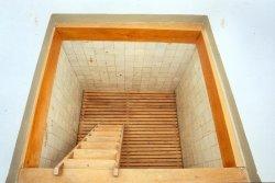 Die erhaltene Mikwe der Rendsburger Synagoge