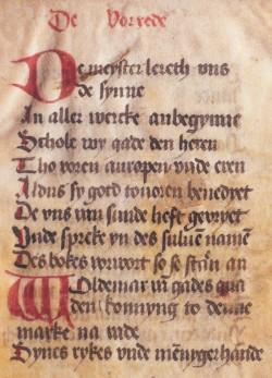 Niederdeutsche Niederschrift des Jütischen Rechts vom Ende des 14. Jahrhunderts