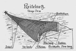 """Das ostpreußische """"Keitelnetz"""" gilt als Vorläufer des """"Trawls"""" – des Grundschleppnetzes – der Nordsee"""
