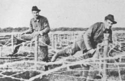 Die Finnischen Jäger bei einer Übung