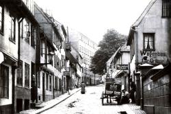 Das erste Krankenhaus in der Flensburger Marienstraße