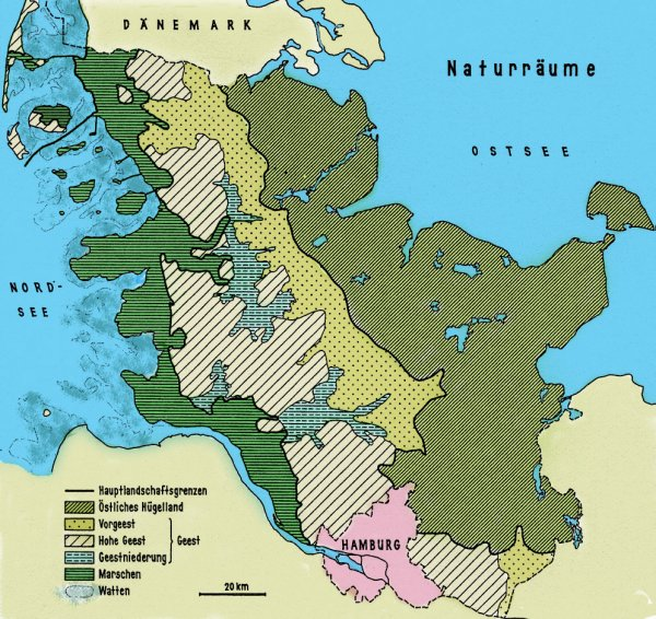 Naturschutzgebiete Schleswig Holstein Karte