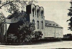 Außenansicht des Nissenhauses 1937
