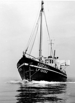 Die Südfall war eines der ersten Forschungsschiffe des Institutes für Meereskunde nach dem Zweiten Weltkrieg