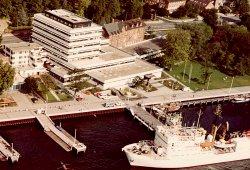 1972 im Jahr der zweiten Segelolympiade in Kiel - zog das Institut für Meereskunde in sein neues Gebäude direkt an der Förde