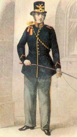 Schleswig-Holsteinischer Postillion 1850