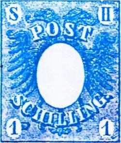 """Der erste """"Postschilling"""""""