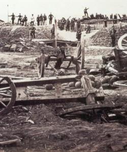 Düppeler Schanzen - nach dem Sturm der preussischen Truppen