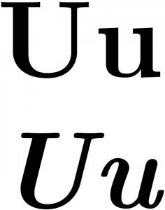 Latin_U
