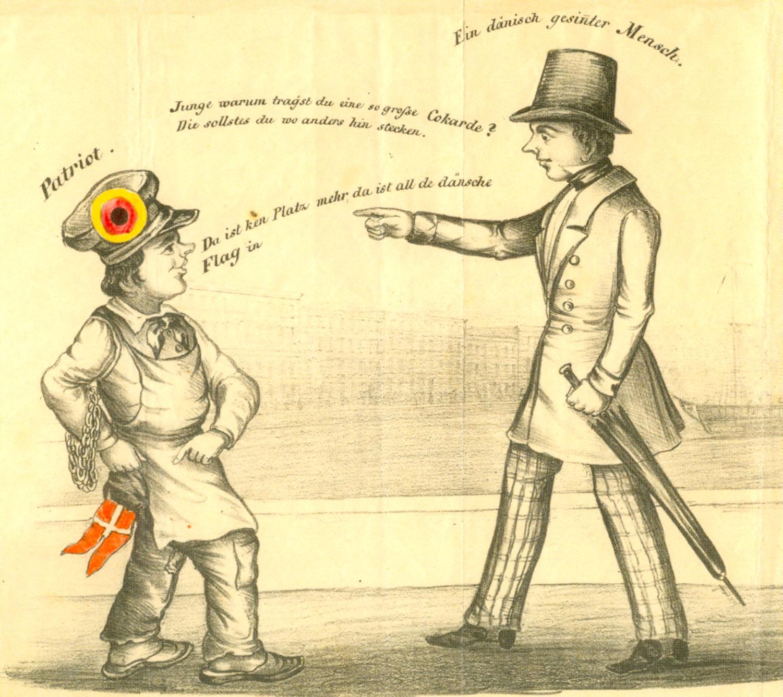 Deutsch oder Dänisch? – Der Konflikt in den Herzogtümern spitzte sich um 1830 immer weiter zu